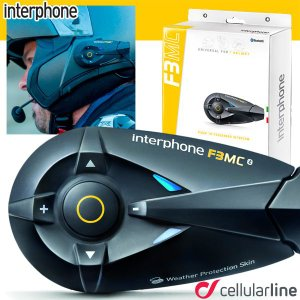 インターフォン F3MC(シングルパック) Interphone MCシリーズ バイク用Bluetoothインカム|motostyle