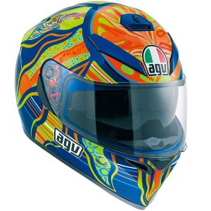 AGV K-3 SV ファイブ コンチネンツ フルフェイスヘルメット K-3SV FIVE CONTINENTS|motostyle