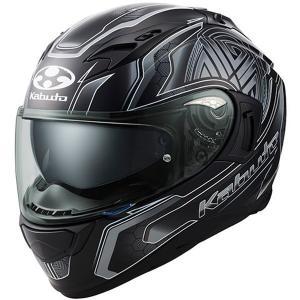 OGK KABUTO KAMUI 3 CIRCLE(カムイ3 CIRCLE) フラットブラックシルバー フルフェイスヘルメット OGKカブト|二輪用品店 MOTOSTYLE