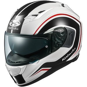 OGK KABUTO KAMUI 3 KNACK(カムイ3 ナック) ホワイトブラック フルフェイスヘルメット OGKカブト|二輪用品店 MOTOSTYLE