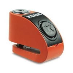 XENA XZZ6L-HD Li ゼナ ディスクアラーム(オレンジ) アラーム付きディスクロック 8...