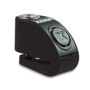 XENA XZZ6L-BK BLE ディスクアラーム(ブラック) Bluetooth対応 アラーム付...