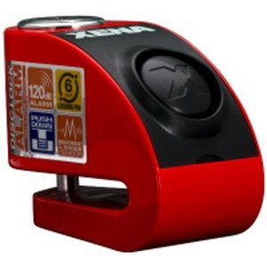 XENA XZZ6L-RD BLE ディスクアラーム(レッド) Bluetooth対応 アラーム付き...