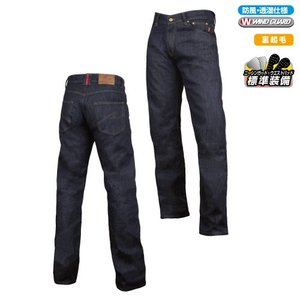 ラフ&ロード HOTウインドガード デニムパンツ ルーズフィット RR7464LF Rough&Road|motostyle