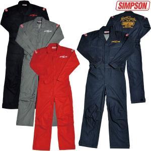 シンプソン メカニックスーツ SMS-201 SIMPSON|motostyle