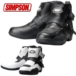 シンプソン SPB-091 防水ショートブーツ|motostyle