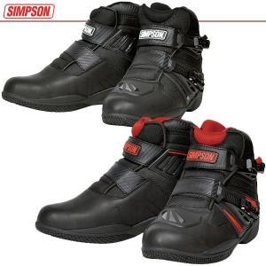 シンプソン 防水ショートブーツ SPB-301 SIMPSON|motostyle