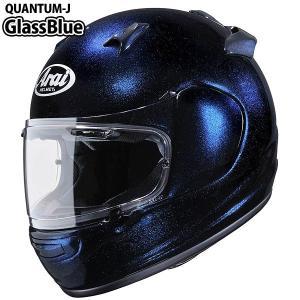 アライ QUANTUM-J (クアンタム-J) グラスブルー フルフェイスヘルメット 東単オリジナルグラフィック|motostyle