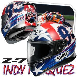 ショウエイ(SHOEI) Z-7 INDY MARQUEZ インディ マルケス フルフェイスヘルメット マルク・マルケス選手スペシャル仕様レプリカ 数量限定特価