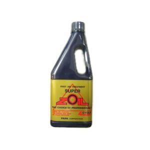 パパコーポレーション スーパーゾイル 4サイクル用 450ml オイル添加剤 SUPER ZOIL