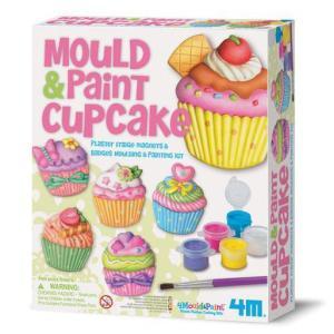4M フォーエムクラフト モールド&ペイント カップケーキ(5歳から)|mottozutto