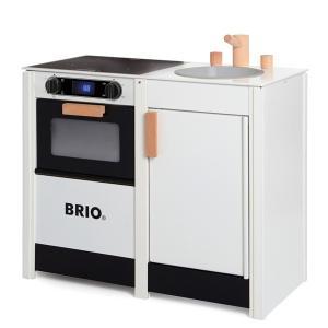 ブリオ BRIO 木のままごとキッチン キッチンストーブ&シンク(3歳から)|mottozutto