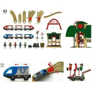 ブリオ BRIO 木製レールシリーズ トラベルレールセット(3歳から) 北欧 mottozutto 02