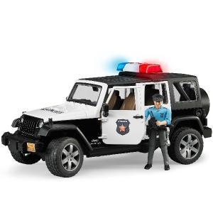 ブルーダープロ はたらくくるま Jeep パトカー(警察官フィギュア付きジープラングラールビコン/3歳から)【店頭受取も可 吹田】|mottozutto