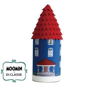 ディクラッセ DI CLASSE×ムーミン テーブルランプ ムーミンハウス/レッド(径126mm)【店頭受取も可 吹田】|mottozutto