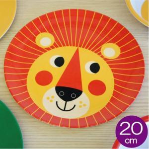 OMM-design インゲラ・アリアニウス 割れにくいメラミンの食器 プレート ライオン|mottozutto