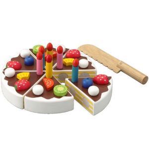 エド・インター 木製ままごと 楽しいケーキ職人(3歳から)【店頭受取も可 吹田】|mottozutto