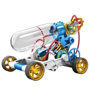 エレキット 工作キット・エコ教材 エアエンジンカー(14歳から)|mottozutto
