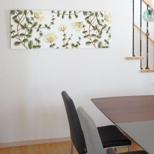 ファブリックパネル マリメッコ marimekko KUUSAMA(クーサマ)/WHITE 136×50cm|mottozutto