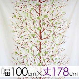 マリメッコ marimekko カーテン【幅100cm×丈178cm】 LUMIMARJA(ルミマルヤ)/GREEN|mottozutto