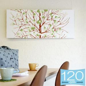 ファブリックパネル マリメッコ marimekko LUMIMARJA(ルミマルヤ)/GREEN 120×50cm|mottozutto