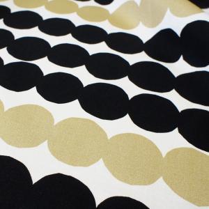 マリメッコ オーダーカーテン 丈181cm〜202cm  RASYMATTO Metal/GOLD&BLACK【店頭受取も可 吹田】|mottozutto|02