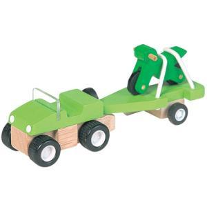 ★8%OFFクーポン対象ストア26日1時迄★プラントイ 木のおもちゃ PlanCity 4WDとバイク【店頭受取も可 吹田】|mottozutto