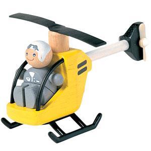 ★8%OFFクーポン対象ストア26日1時迄★プラントイ 木のおもちゃ PlanCityヘリコプター【店頭受取も可 吹田】|mottozutto