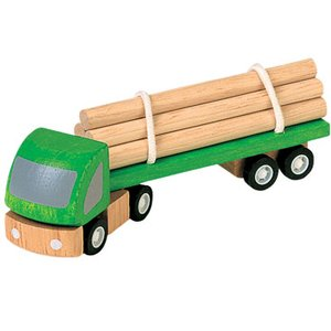 ★8%OFFクーポン対象ストア26日1時迄★プラントイ 木のおもちゃ PlanCity材木運搬車【店頭受取も可 吹田】|mottozutto