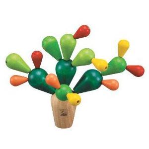 プラントイ 木のおもちゃ サボテンバランスゲーム(3歳から)【店頭受取も可 吹田】|mottozutto