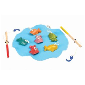 プラントイ 木のおもちゃ お風呂でも遊べる さかなつり(3歳から)【店頭受取も可 吹田】|mottozutto