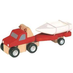 ★8%OFFクーポン対象ストア26日1時迄★プラントイ 木のおもちゃ PlanCity 4WDとボート【店頭受取も可 吹田】|mottozutto