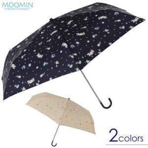 ムーミン ミニ折りたたみ傘 ヴィンテージパターン|mottozutto