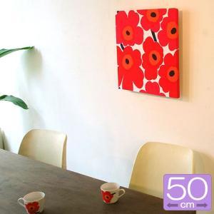 ファブリックパネル マリメッコ marimekko PIENI UNIKKO(ピエニ ウニッコ)/RED 50×50cm|mottozutto
