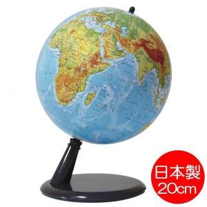 地球儀 コンティネンツ 地勢図タイプ 20cm球 mottozutto