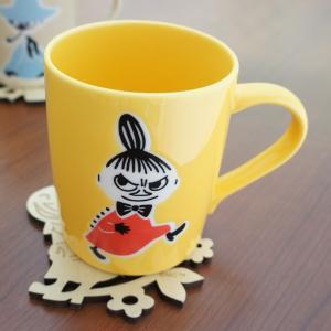 ムーミン 木製コースター付マグカップ リトルミイ【店頭受取も可 吹田】|mottozutto