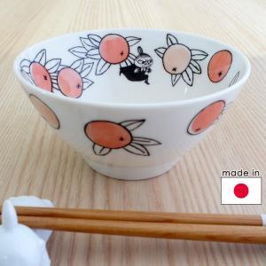 ムーミン 陶器のライスボウル お茶碗 citrus dots/シトラスドット リトルミイ|mottozutto