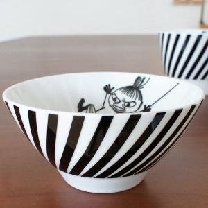 ムーミン 陶器(イングレーズ絵付)のライスボウル お茶碗 リ...
