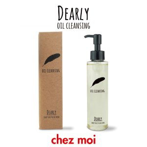 DEARLY オイルクレンジング  ディアリー クレンジング オイル スキンケア 乾燥 保湿 化粧品 シェモア|motu-play