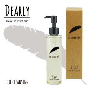 DEARLY オイルクレンジング  ディアリー クレンジング オイル スキンケア 乾燥 保湿 化粧品 シェモア|motu-play|02