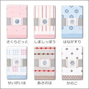 4枚までゆうパケット 安心 日本製 泉州 パイル 和柄 プリント ガーゼ てぬぐい (japanese style-はんなり小紋)|mou