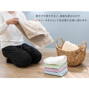 送料無料 バスタオル 10枚セット 今治 日本製 クローバー が かわいい パステルカラー (エコクローバー)|mou|02