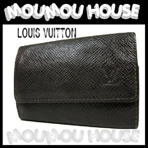 LOUIS VUITTON ルイヴィトン タイガ グリズリ 6連キーケース M30538【62%OFF】【A-B】中古|moumouhousestore