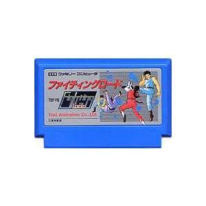 ▲【クリックポスト6個まで164円】FC ファミコン 東映動画 ファイティングロード アクションゲーム h-g-fc-755【中古】