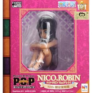 ▲  ワンピース CB-EX ニコ ロビン Ver.デレシ 10th限定復刻版  POP フィギュア  メガハウス 国内