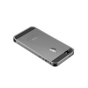 iPhoneSE ケース アルミ バンパー クリア 背面カバー付き かっこいい スリム 軽量 アイフォンSE メタルサイドバンパー 液 背面保護フィ|mount-n-online