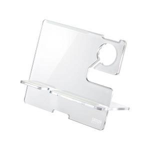 サンワサプライ Apple Watch・iPhone用充電スタンド(ホワイト) PDA-STN12W|mount-n-online
