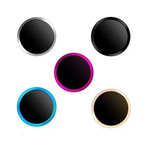 Doutop ホームボタンシール 指紋認証 TouchID iPhone X 8 7 Plus 6S...