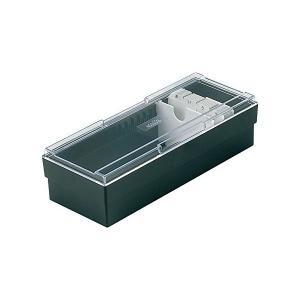 セキセイ ネームカードボックス ブラック CB-700-00|mount-n-online