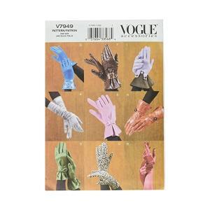 【vogue patterns】VOGUE 手袋・グローブ 型紙セット|mount-n-online